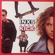 INXS Kick LP Vinyl & GF Cover VG++ 1987 LYRICS SLV