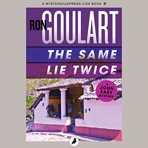 The Same Lie Twice audiobook cover art