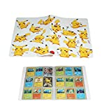 Album de cartes à collectionner compatible avec les cartes Pokémon, porte-cartes Pokémon, jeux de cartes à collectionner de reliure de support TCG, Peut contenir 324 cartes (Pikachu Deluxe Edition) A