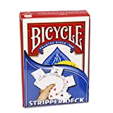 Stripper Deck Bicycle (Red) - Card Games - Magic Tricks and Magic