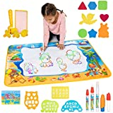 Toys Gem Water Drawing Mat Set with 4 Pens and...