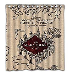 Marauders Map curtains on amazon