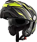 Givi Hps X33 Full Face Helmet Canyon Graphics Layers Matt Black/Yellow Size 56/S | HX33FLYBY56