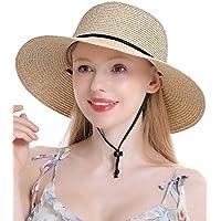 Double Couple Women's Straw Sun Hat