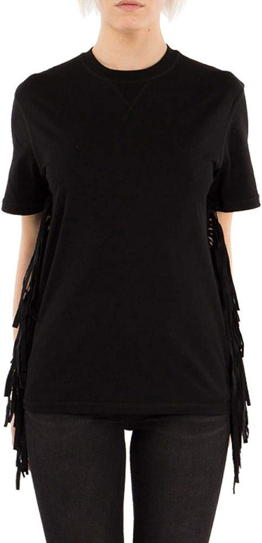 MCQ BY ALEXANDER MCQUEEN Women's 406412RGH241000 Black Cotton TShirt