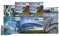 LEE Filters LEE100 82mm スペシャルエディション ランドスケーププロキット LEE100 フィルターホルダー LEE 100mm ソフトエッジ グラデーション NDフィルターセット LEE 100mm ビッグ&リトルストッパー LEE100 CPLと82mm 広角リング