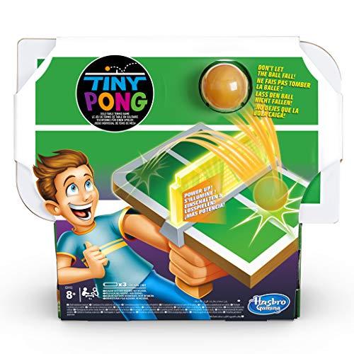 Tiny Pong Tischtennis für 1 Spieler, elektronisches Spiel für Kinder ab 8 Jahren