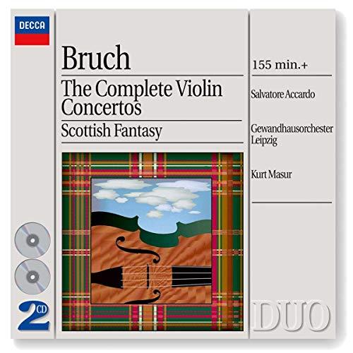 Max Bruch: Die drei Violinkonzerte / Schottische Fantasie