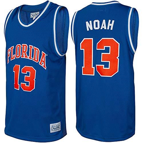 Elite Fan Shop Joakim Noah Retro Florida Gators Basketball Jersey - Large - Joakim Noah Blue