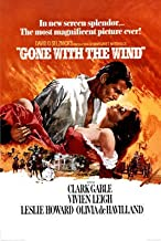 Gone with the Wind Movie Rhett Butler and Scarlett O'Hara Embrace Poster Print Poster Art Poster Print, 24x36