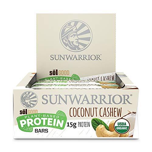 Sunwarrior Sol Good Protein Bars, Coconut Cashew, 684 g