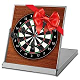 Ideas In Life Mini Magnetic Desktop Dart Board with 3 Magnetic Darts Novelty Fun Office Desk Toys for Kids and Adults