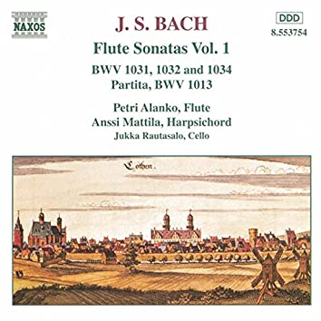 BACH, J.S.: Flute Sonatas, Vol. 1