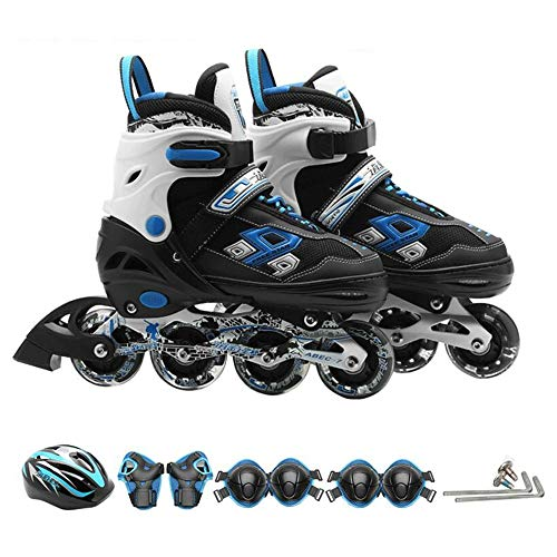 Best Review Of YUMEIGE Roller Skates Outdoor Roller Skates,Buckle+Velcro+Wear-Resistant Lace 3 Lay...