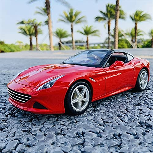 JKSM Coche Modelocinc 1:18 para Ferrari para California Simulación Aleación Modelo Coche Manualidades Decoración Colección Herramientas De Juguete Adultos Niños Regalo
