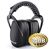 Sumsonic Safety Ear Muffs Shooters Hearing Protection with...