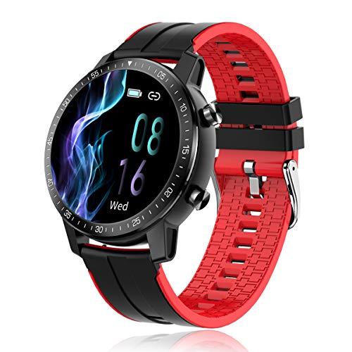 Reloj Inteligente, SmartWatch IP68 con Pantalla Táctil de 1.3'', Pulsera Actividad Inteligente Hombre Mujer para Deporte, Monitor de Actividades, Podómetro Cronómetros para iOS Android