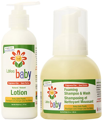 Lafes Organic Baby Bath Gift Pack