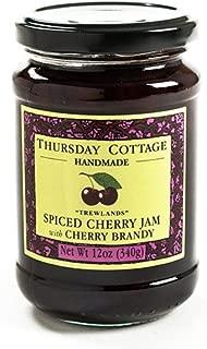 spiced cherry jam