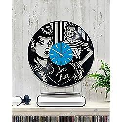 Vinyl Clock I Love Lucy Wall Clock Wall Record Clock/Lp Clock/Kitchen Wall Clock/Wall Vinyl Clock