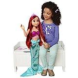 Princesas Disney, Muñeca Ariel, tu Amiga de Juego, tamaño Especial (80 cm) articulada y con Accesorios