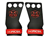 PICSIL RX Carbon Grips 3H - Calleras para Crossfit Grips Gymnastics, Pullups,...