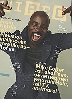 Wired 2016 September - Mike Colter as Luke Cage, seven women who rule Hulu fall TV. and more