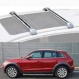 LLDS Ajustement Personnalisé pour Q5 Barres De Toit Railing en Aluminium pour Q5 2013-19 (Color : Silver, Size : for Audi Q5 2015)
