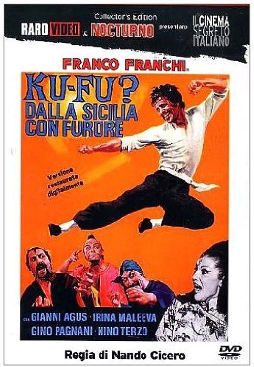 Film -franco franchi - ku-fu? dalla sicilia con furore -dvd minerva pictures group srl unipersonale B000F0H74C