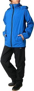 [タルテックス] レインウェア レインスーツ 上下セット 撥水素材 透湿 防風 防水 メンズ