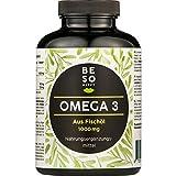 BeSoHappy® Omega 3120Kapseln(für 4 Monate)aus 1000 mg Fischöl–Hochwertige,...