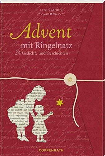 Lesezauber: Advent mit Ringelnatz - Briefbuch zum Aufschneiden: 24 Gedichte und Geschichten (Adventskalender)