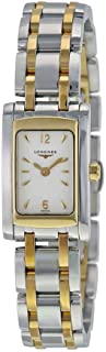 Longines Dolce Vita White Dial Steel and Yellow Gold PVD Ladies Watch L51585287