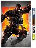 Trends International Call of Duty: Black Ops 4 - Ruin Key Art Wall Poster, 22.375' x 34', Poster & Clip Bundle