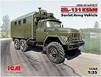 ICM 1/35 ソビエト ZiL-131 KShM コマンドビークル プラモデル
