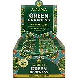 Aduna Green Goodness Energy Bar With Mango and Moringa Superleaf, 40g - (Pack of 16 Bars)