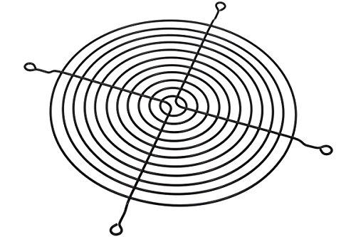 Lüftergitter für Axiallüfter für 180mm schwarz