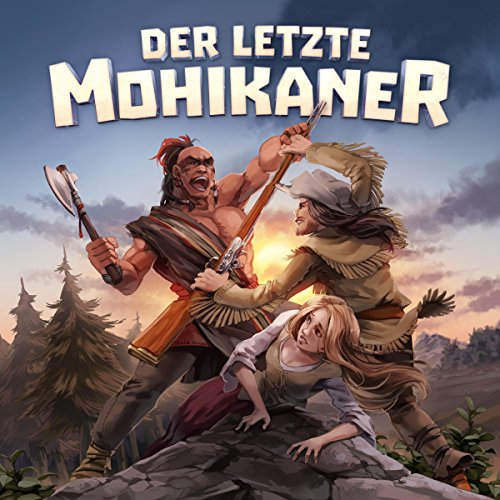 Der letzte Mohikaner audiobook cover art