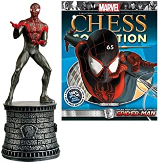 Eaglemoss Publications Marvel Ultimate Spider-Man White Knight Chess Piece with Collector Magazine