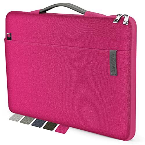 sølmo I Design Laptop-Tasche 15-15.6 Zoll, Laptophülle 15.6 Zoll, Stoßfeste Notebooktasche kompatibel mit 15,6