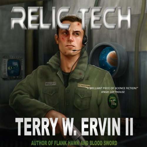 Relic Tech audiobook cover art