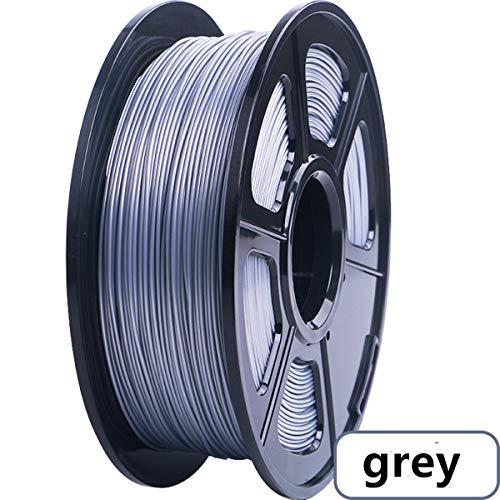 3D Printer Filament PLA Materials 1.75mm 1KG Spool ,Dimensional Accuracy +/- 0.03 mm(Grey)