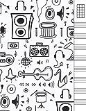 Cuaderno Tablatura Ukelele: Cuaderno de pentagramas Ukelele...