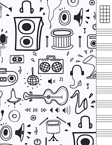 Cuaderno Tablatura Ukelele: Cuaderno de pentagramas Ukelele