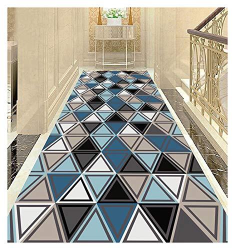 ditan XIAWU Fußabtreter Kann Geschnitten Werden Schlafzimmer Wohnzimmer rutschfest Eingang Gang (Color : A, Size : 110x400cm)