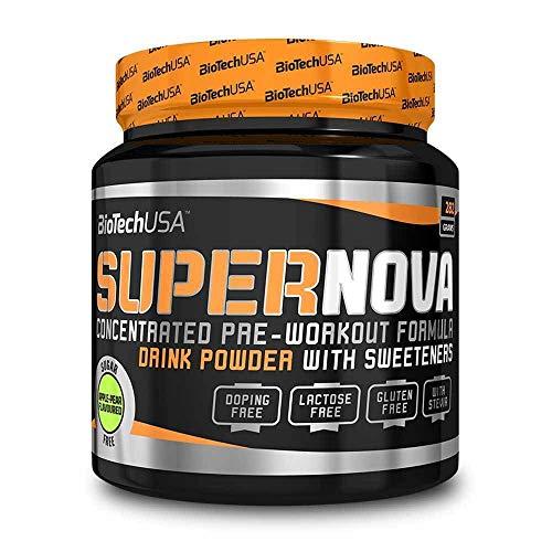 BioTech Super Nova Bebida y Batidos Nutritivos, Sabor Manzana y Pera - 282 gr