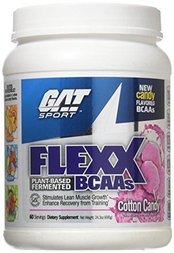 GAT Flexx BCAA's Cotton Candy 60 Serving Supplement