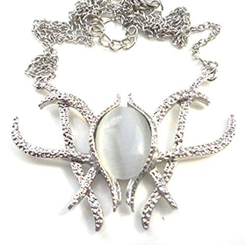 Jzmfashions - Collar con colgante de Galadriel, diseño de El Señor de los Anillos