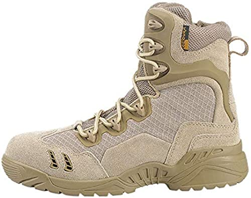 WWJDXZ Herren Wanderschuhe Wanderschuhe Wanderschuhe High Combat Stiefel Desert Stiefel Atmungsaktive Wear Stiefel Ultraleichte Outdoor-Schuhe  authentische Qualität