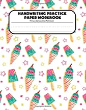 Handwriting Practice Paper Primary Composition Notebook: Blank Dotted Writing Sheets Notebook Journal For Preschool And Kindergarten Kids (ages 2-4, ... Book For Preschoolers) (That's Sweet)